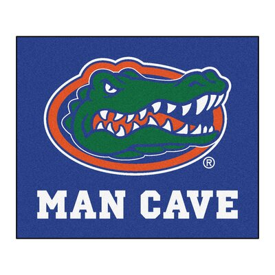 NCAA University of Florida Man Cave Indoor/Outdoor Area Rug