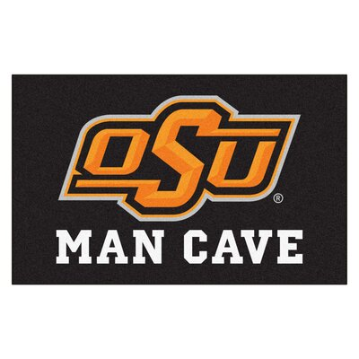 Collegiate NCAA Oklahoma State University Man Cave Doormat