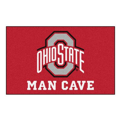 Collegiate NCAA Ohio State University Man Cave Doormat