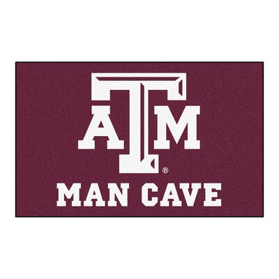 Collegiate NCAA Texas A and M University Man Cave Doormat