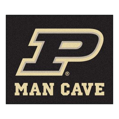 NCAA Purdue University Man Cave Indoor/Outdoor Area Rug