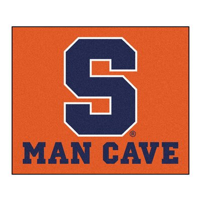 NCAA Syracuse University Man Cave Indoor/Outdoor Area Rug
