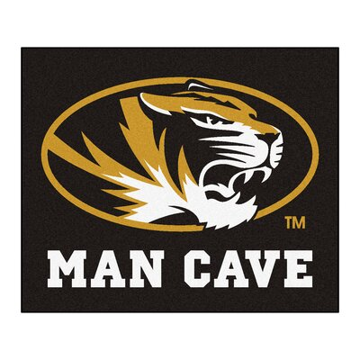 NCAA University of Missouri Man Cave Indoor/Outdoor Area Rug