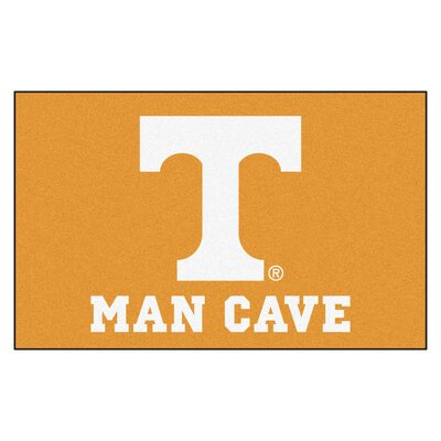 Collegiate NCAA University of Tennessee Man Cave Doormat