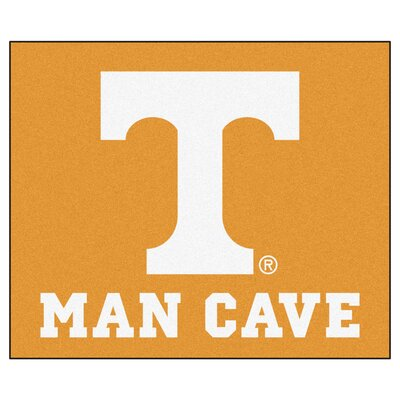 NCAA University of Tennessee Man Cave Indoor/Outdoor Area Rug
