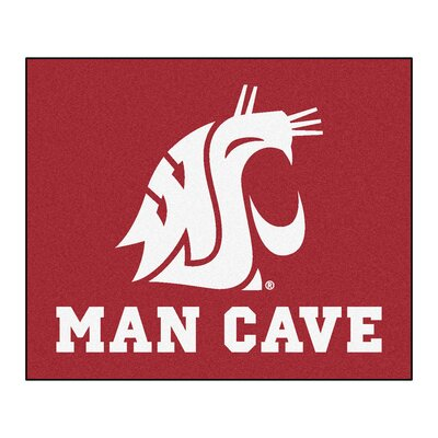 NCAA Washington State University Man Cave Indoor/Outdoor Area Rug