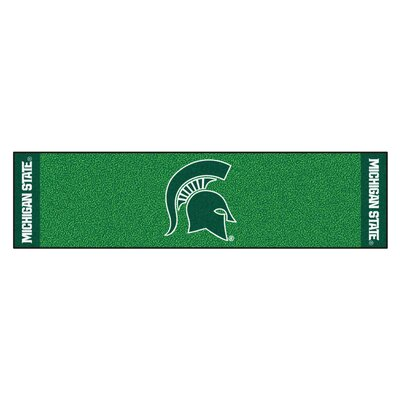 NCAA Michigan State University Putting Green Doormat