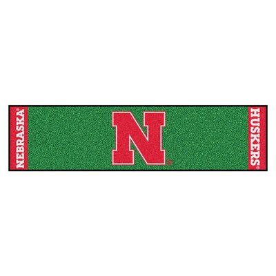NCAA University of Nebraska Putting Green Doormat