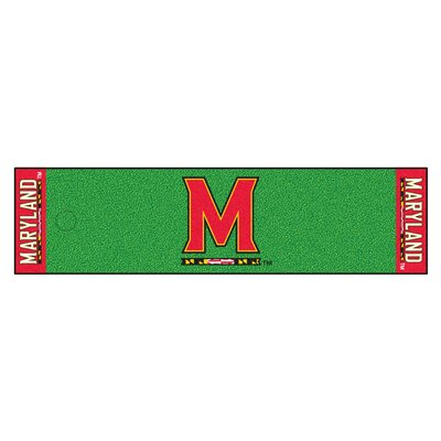 NCAA University of Maryland Putting Green Doormat