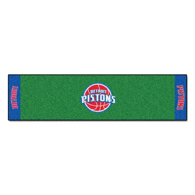 NBA - Detroit Pistons Putting Green Doormat