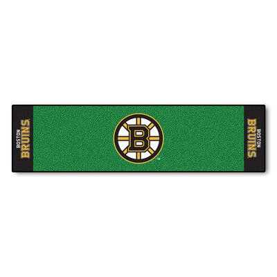 NHL - Boston Bruins Putting Green Doormat