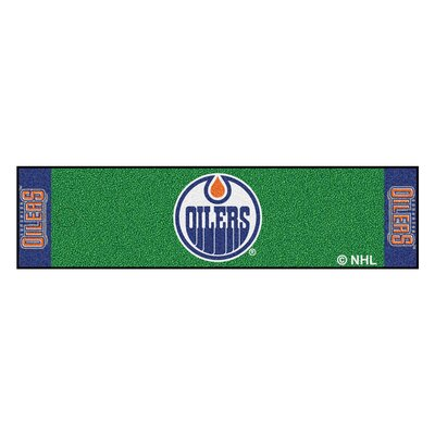 NHL - Edmonton Oilers Putting Green Doormat