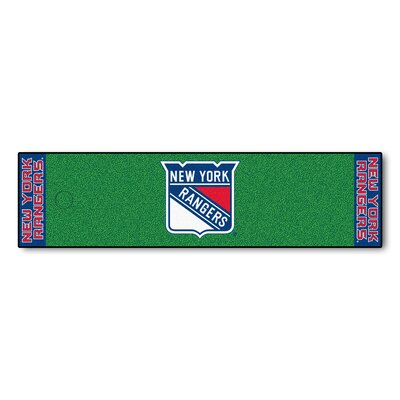 NHL - New York Rangers Putting Green Doormat