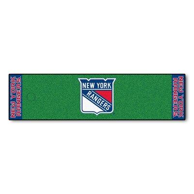 NHL - New York Rangers Putting Green Doormat