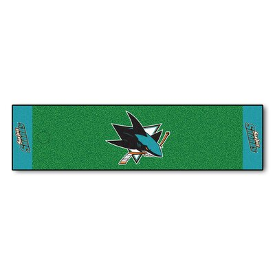 NHL - San Jose Sharks Putting Green Doormat