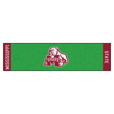 NCAA Mississippi State University Putting Green Mat