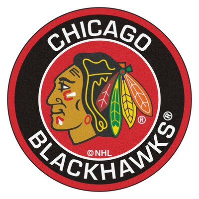 NHL Chicago Blackhawks Roundel Mat