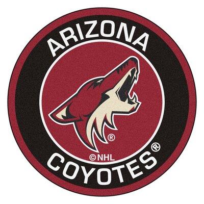 NHL Arizona Coyotes Roundel Mat