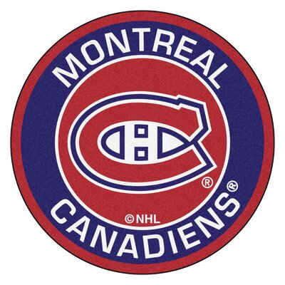NHL Montreal Canadiens Roundel Mat