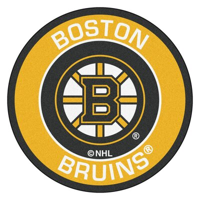 NHL Boston Bruins Roundel Mat