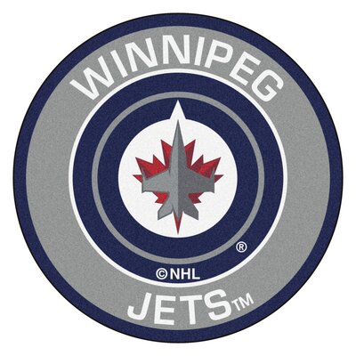 NHL - Winnipeg Jets Roundel Mat