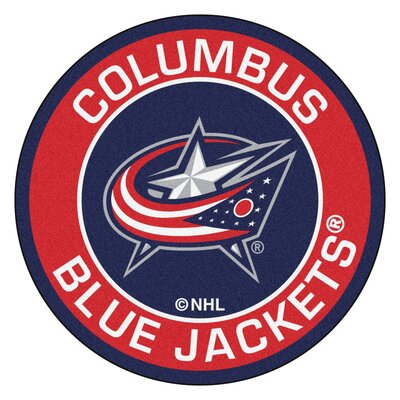 NHL Coloumbus Blue Jackets Roundel Mat