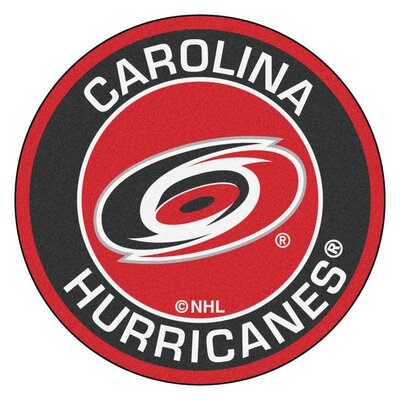 NHL Carolina Hurricanes Roundel Mat