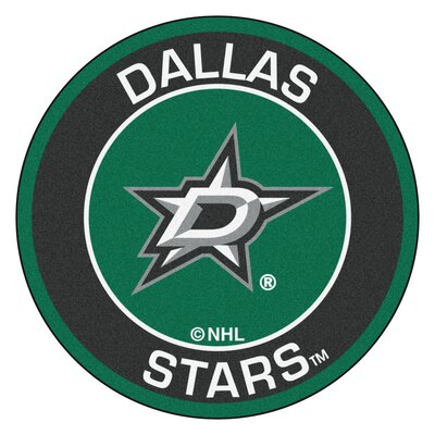 NHL Dallas Stars Roundel Mat