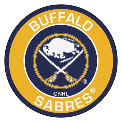 NHL Buffalo Sabres Roundel Mat