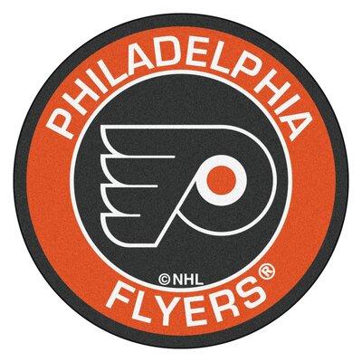 NHL Philadelphia Flyers Roundel Mat