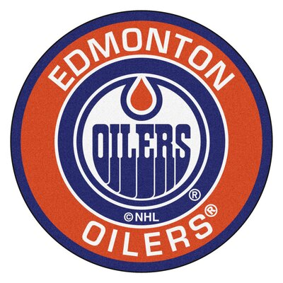 NHL Edmonton Oilers Roundel Mat