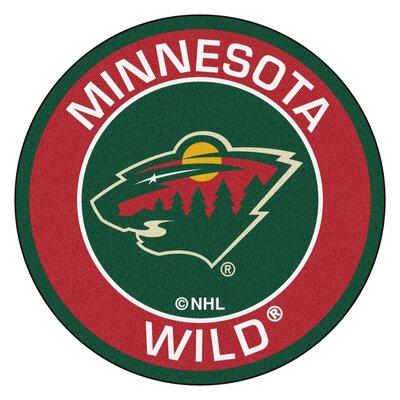 NHL Minnesota Wild Roundel Mat