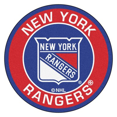 NHL New York Rangers Roundel Mat
