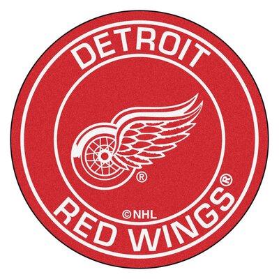 NHL Detroit Red Wings Roundel Mat