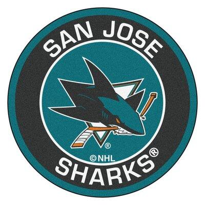 NHL - San Jose Sharks Roundel Mat