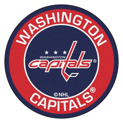 NHL - Washington Capitals Roundel Mat