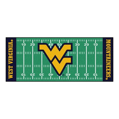 NCAA West Virginia University Football Field Runner