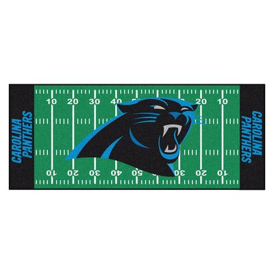 NFL - Carolina Panthers Football Field Runner