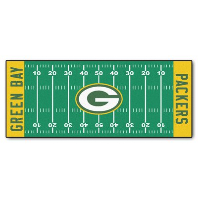 NFL - Green Bay Packers Football Field Runner