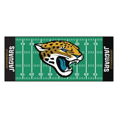 NFL - Jacksonville Jaguars Football Field Runner