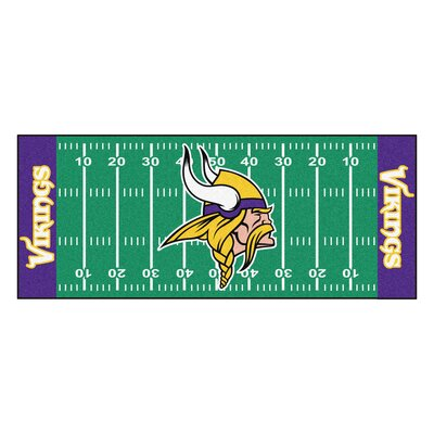 NFL - Minnesota Vikings Football Field Runner