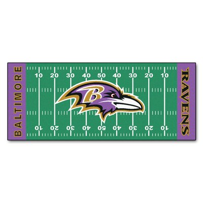 NFL - Baltimore Ravens Football Field Runner