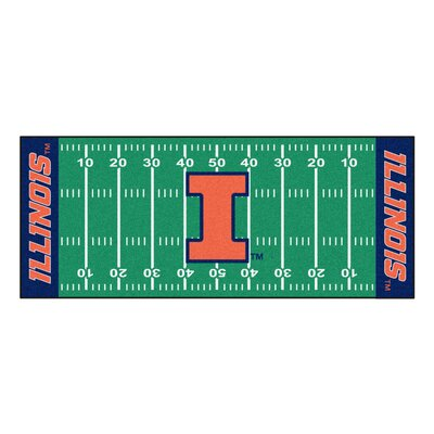 NCAA University of Illinois Football Field Runner