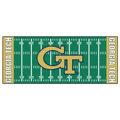 NCAA Georgia Tech Football Field Runner