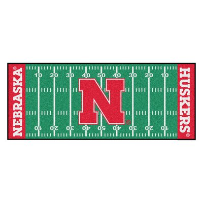 NCAA University of Nebraska Football Field Runner