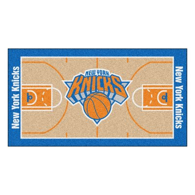 NBA - New York Knicks NBA Court Runner Doormat Mat Size: 2 x 38