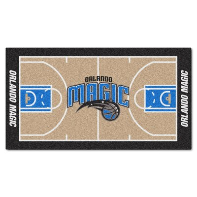NBA - Orlando Magic NBA Court Runner Doormat Mat Size: 25.5 x 46