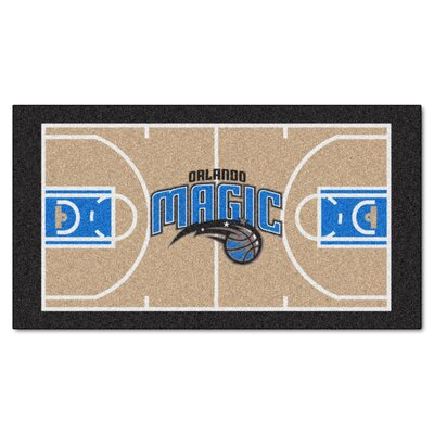 NBA - Orlando Magic NBA Court Runner Doormat Mat Size: 2 x 38