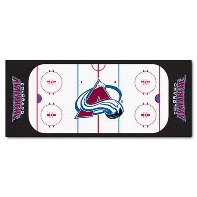 NHL - NCAAorado Avalanche Rink Runner Doormat