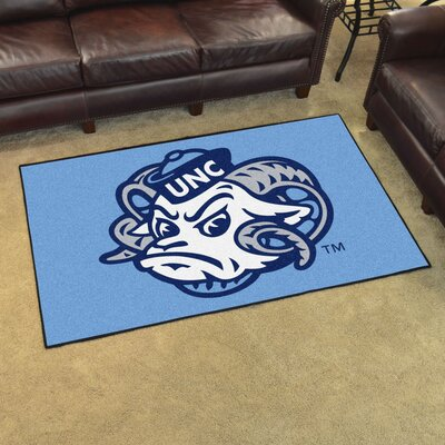 NCAA University of North Carolina - Chapel Hill Mat Size: 4 x 6